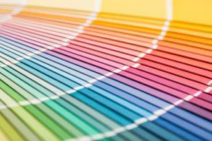 Different color palette