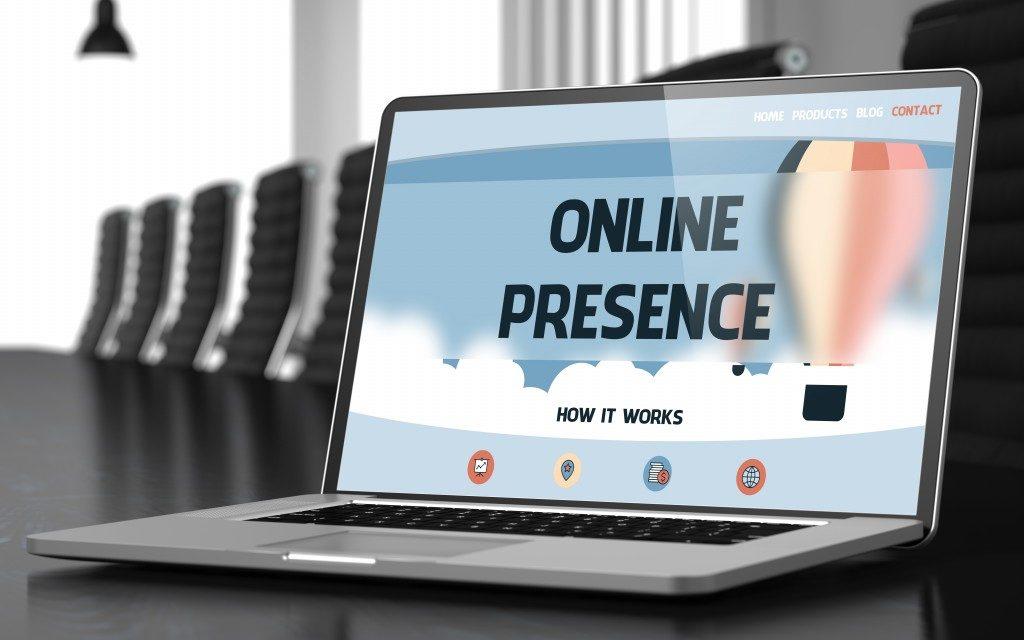 Online presence presentation