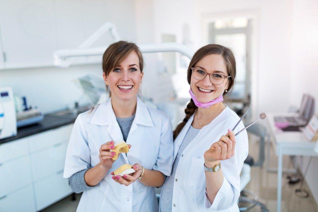 Friendly dental staff