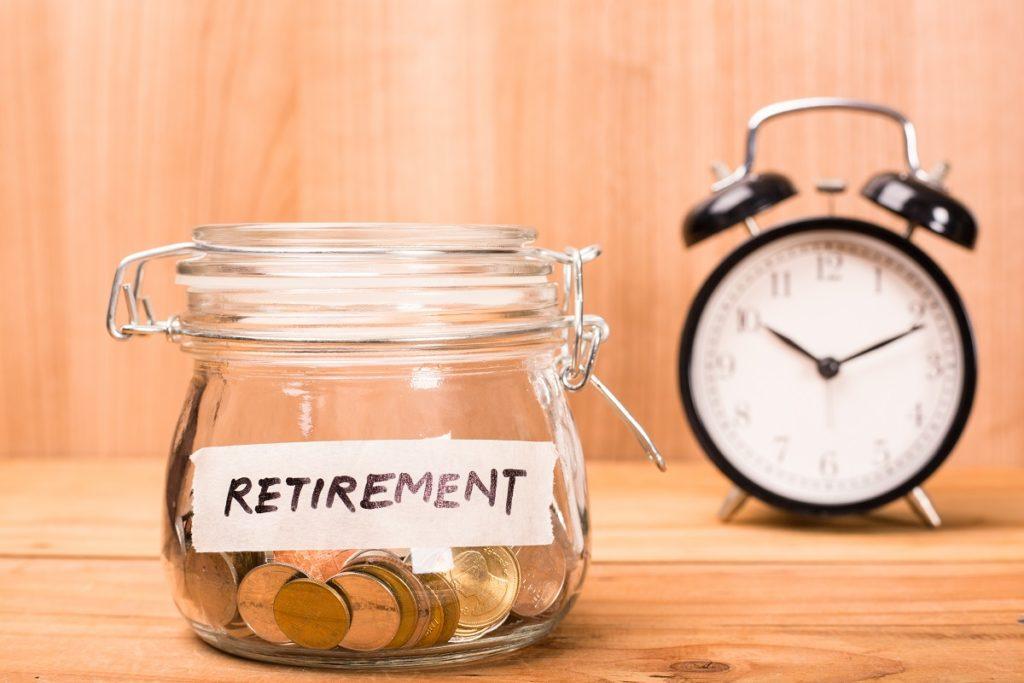 Retirement fund in a jar