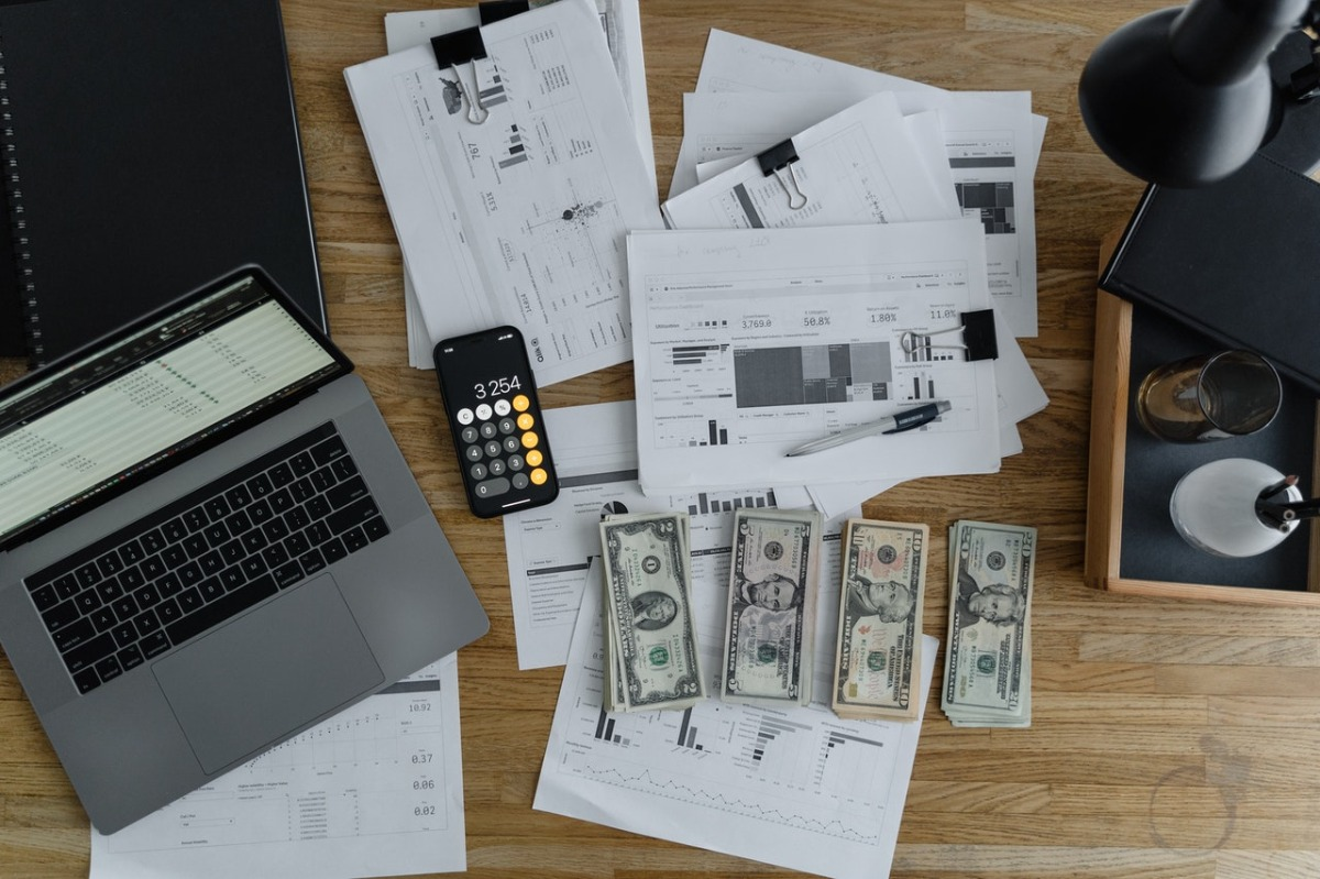 cash and documents