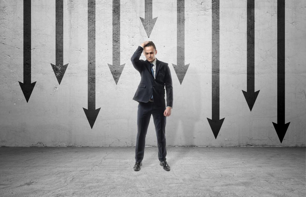 career roadblocks concept